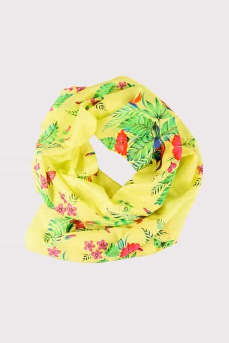 "фотография Wrap ""Passion flower"" Yellow"