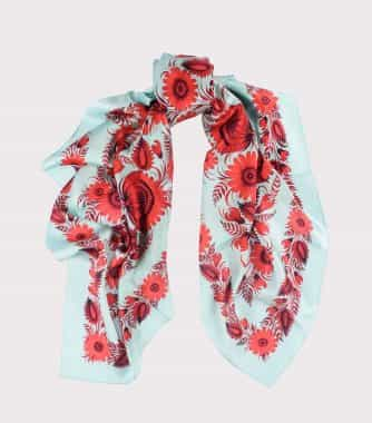 "фотография Square scarf ""Temptation"""