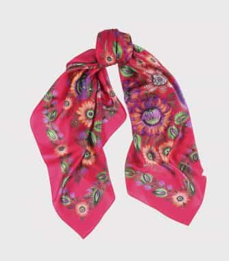 "фотография Square scarf ""Passionate embrace"""