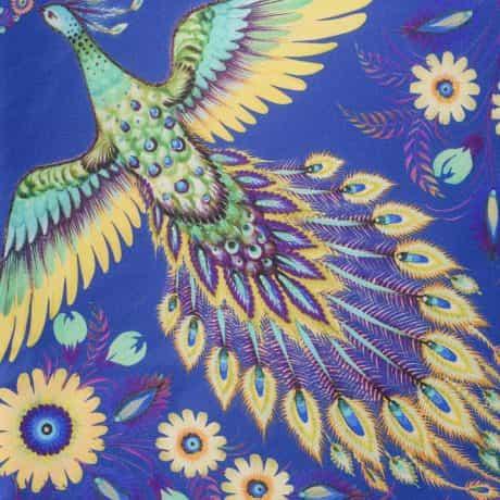 "фотография Синий платок ""Волшебные Жар-птицы"" #1"