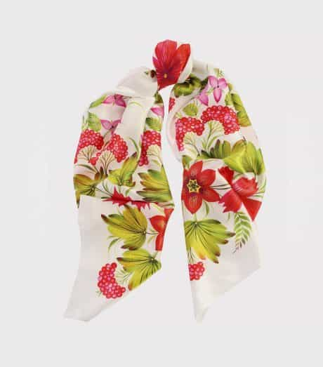 "фотография Square scarf ""Canadian"" White"
