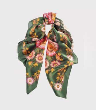 "фотография Square scarf ""Forest song"""