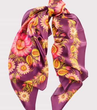 "фотография Square scarf ""Autumn colors"""